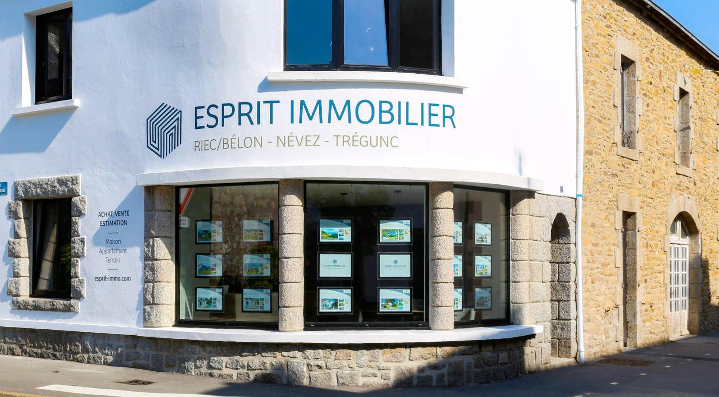 Esprit immobilier, Agence de Riec-sur_belon