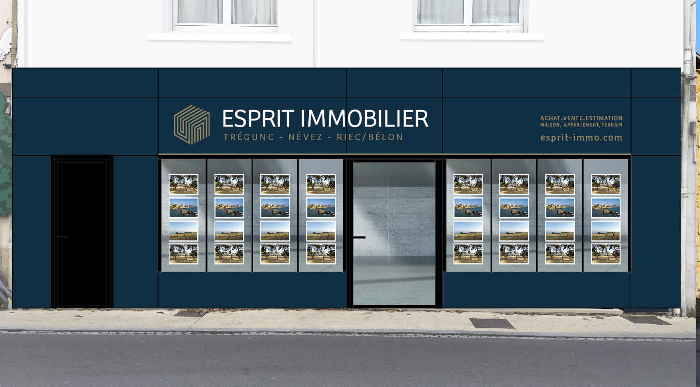 <strong>Esprit immobilier</strong>, Agence de Trégunc